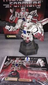 Transformers Statue and Busts