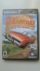 Dukes of Hazzard Return of the General Lee for Playstation 2