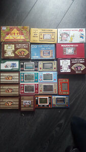 Lot de 14 Game and Watch! TRÈS RARE!