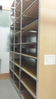 STEEL AND WOOD WAREHOUSE RACKING FOR SALE