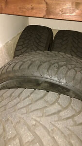 WINTER TIRES FOR TOYOTA VENZA 245/55/19