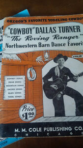 Vintage Country Music Song Books Kitchener / Waterloo Kitchener Area image 3