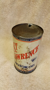 Quart oil can fromSt.Lawerence Oil Company&Supply Gananoque