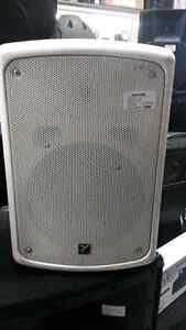 Yorkville powered speakers. We sell used pro audio equipment