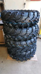 """Trail Fighter ATV Tire Package 25"""" Tires"""