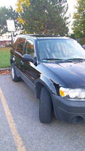 2007 Ford Escape XLS 5 speed manual gearbox