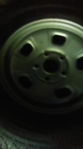 5 bolt dodge rims and tires
