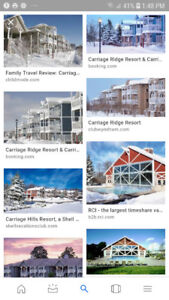 Carriage Hills Resorts Ski Vacation