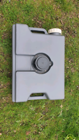 Camping water waste container