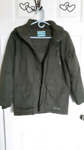 MOUNTAIN WEARHOUSE KIDS WINTER COAT ZIP UP WITH HOOD -