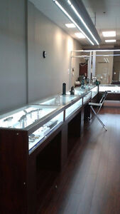 JEWELLERY STORE EQUIPMENT AND ACCESSORIES