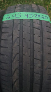 Pairs of low profile R20 all season tires