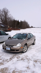 2000 chrysler neon