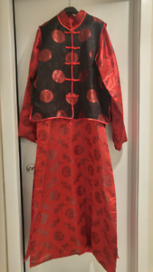 Men's XL traditional chinese wedding outfit