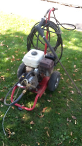 Gas pressure washer Honda GX200