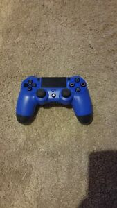 BLUE WIRELESS PS4 CONTROLLER FOR SALE. $40