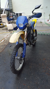 2005 HUSQVARNA TE 450 STREET LEGAL AND READY FOR THE DIRT