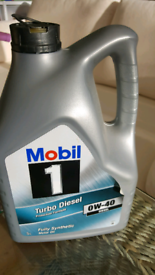 Mobil 1 Fully Synthetic Car Engine Oil.