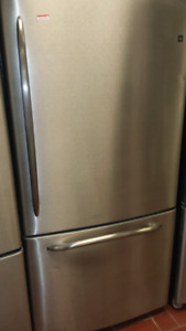 refrigerateur ge stainless
