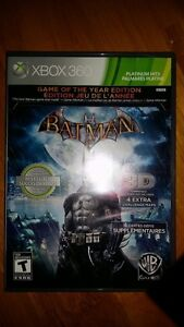 Xbox 360 Batman Game of the year Edition Game