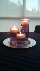 hurricanes - 3 sizes - perfect for wedding centerpieces