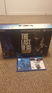 PS4 500gb bundle with 2 games