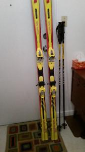 Nice older set for a taller skier