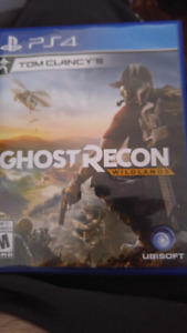 Jeux ghost recon ps4