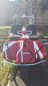 Harley Golf Cart & Trailer