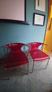 2 red chairs for children or adult Gatineau Ottawa / Gatineau Area image 1