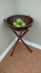 Vintage fruit bowl stand. $10 today only. Firm
