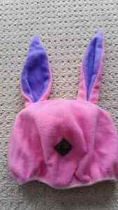 Helmet Cover - Pink Cottontail