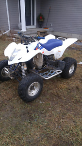 Trade plus cash for newer 4x4 quad