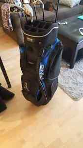 PING golf bag *prefect condition* alot of pockets