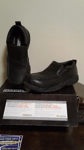 Dakota slip on safety shoes