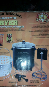 Cajun Injector electric Fryer brand new