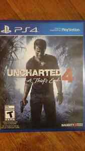 Ps4 Uncharted 4 for $45.