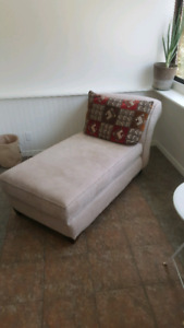 Matching chaise lounger and love seat