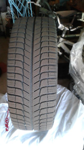 Michelin X snow tires and rims 215/45R17