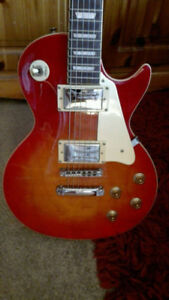 TWO ELECTRIC GUITARS FOR TRADE SWAP AND AMP