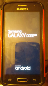 Samsung Galaxy Core with Virgin/Bell