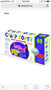 Crazy forts 1 box available