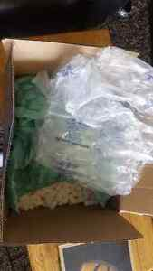 Free box and packing material