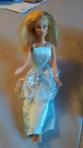 1999 Mattel Doll (blue dress) - 12 Inches