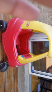 2 Toy cars yellow and red colours perfect condition