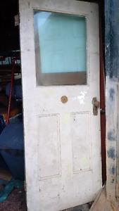 Antique Exterior Door