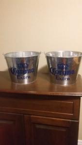 Galvanized steel Corona ice bucket