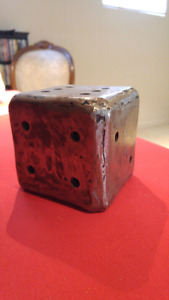 Six Sided Dice Sculpture