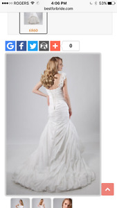 ALFRED SUNG WEDDING GOWN size 10