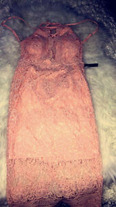 Fashion Nova Dusty Pink Dress! Brand New! Tags still on!